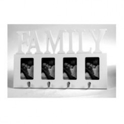 Silver Family Photo Frame