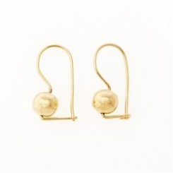 Euroball 9ct Gold Earrings